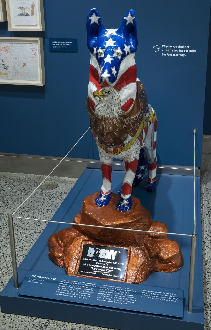 "Dogs of 9/11"" Exhibit Opens at the 9/11 Memorial & Museum"